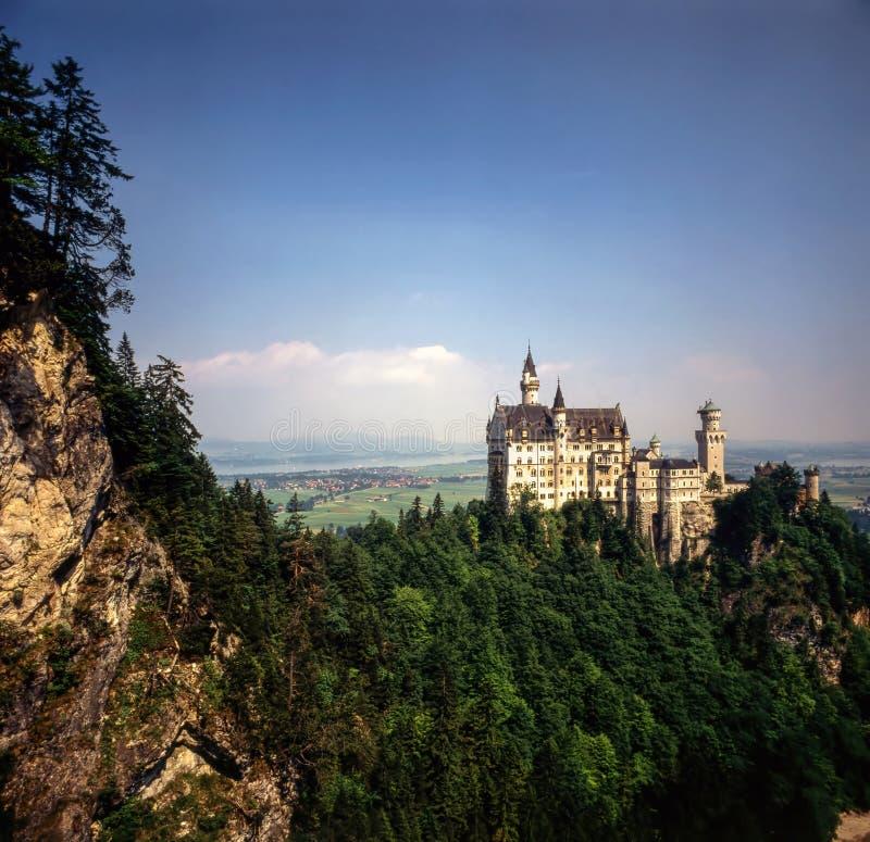 Castelo Neuschwanstein, Alemanha fotografia de stock