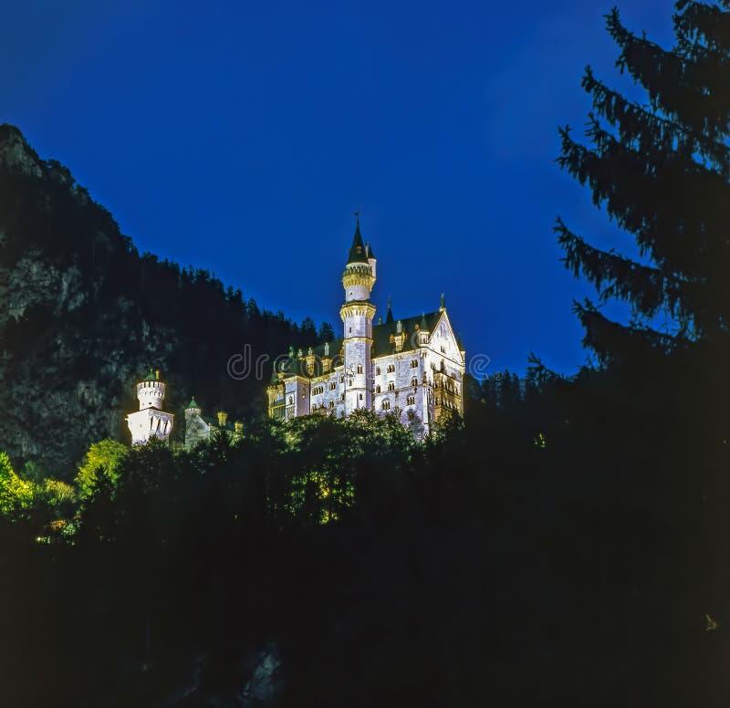 Castelo Neuschwanstein, Alemanha fotos de stock royalty free