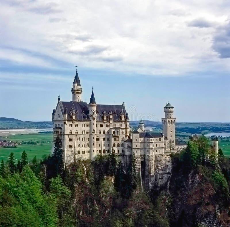 Castelo Neuschwanstein em Baviera, Alemanha imagens de stock