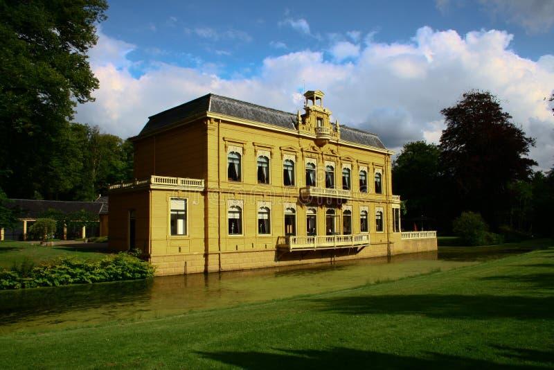 Castelo Nienoord, alho-porro, Groningen, os Países Baixos fotografia de stock