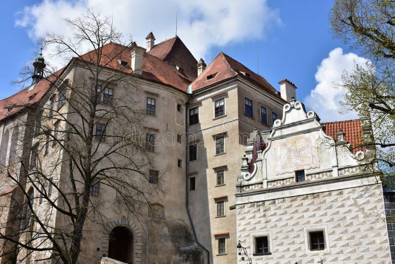 Castelo no ½ Krumlov de Ceskà imagem de stock royalty free
