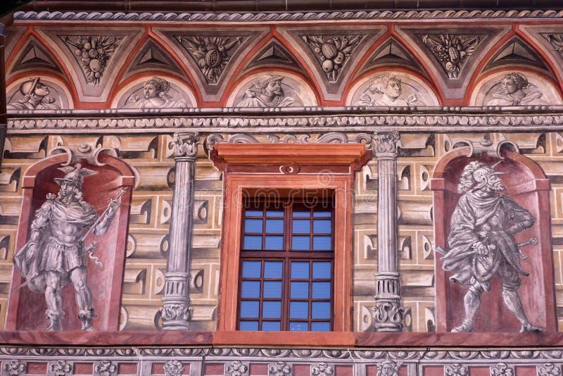 Castelo no ½ Krumlov de Ceskà fotos de stock royalty free