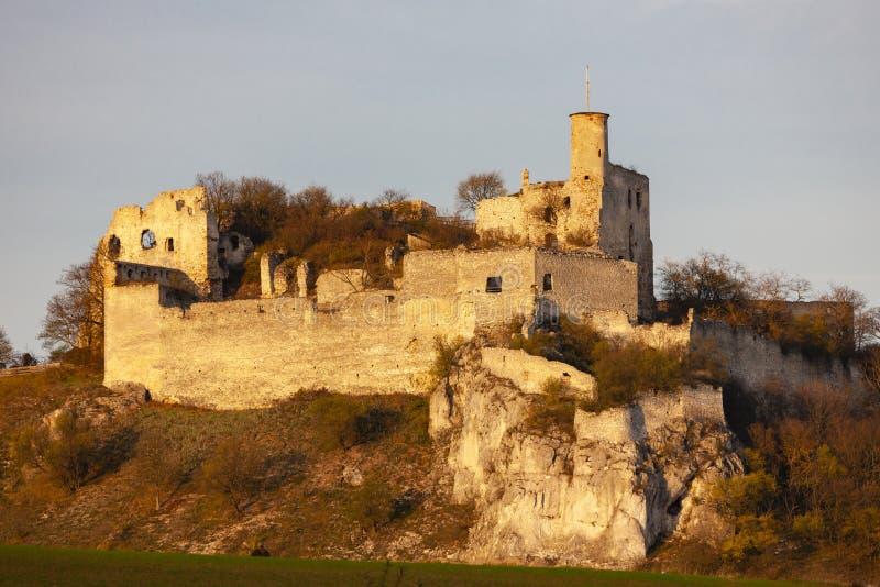 Castelo no outono, ?ustria de Falkenstein fotografia de stock royalty free