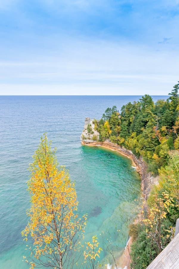 Castelo o Lago Superior do ` s do mineiro fotografia de stock royalty free