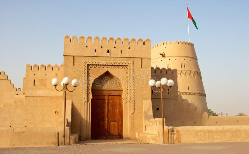 Castelo omanense fotos de stock royalty free