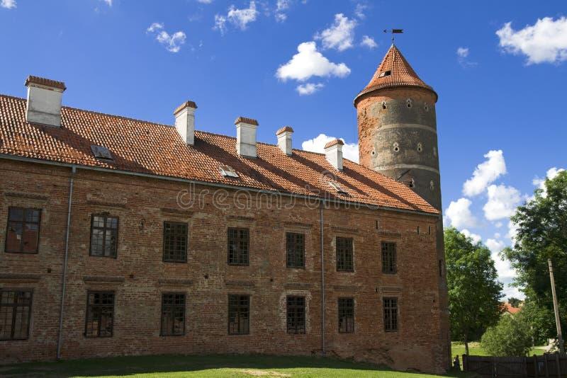 Castelo Panemune foto de stock royalty free