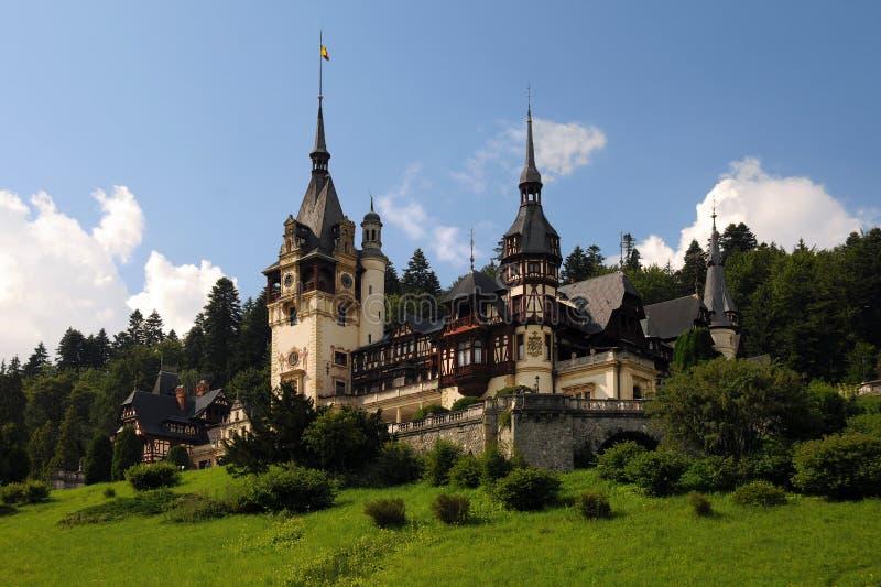 Castelo real de Peles imagens de stock royalty free