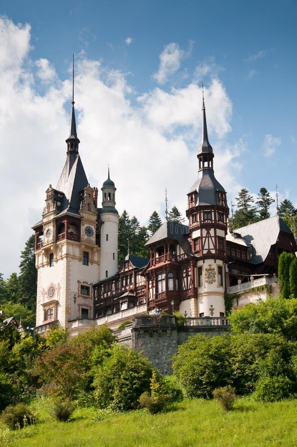 Castelo real do conto de fadas foto de stock royalty free