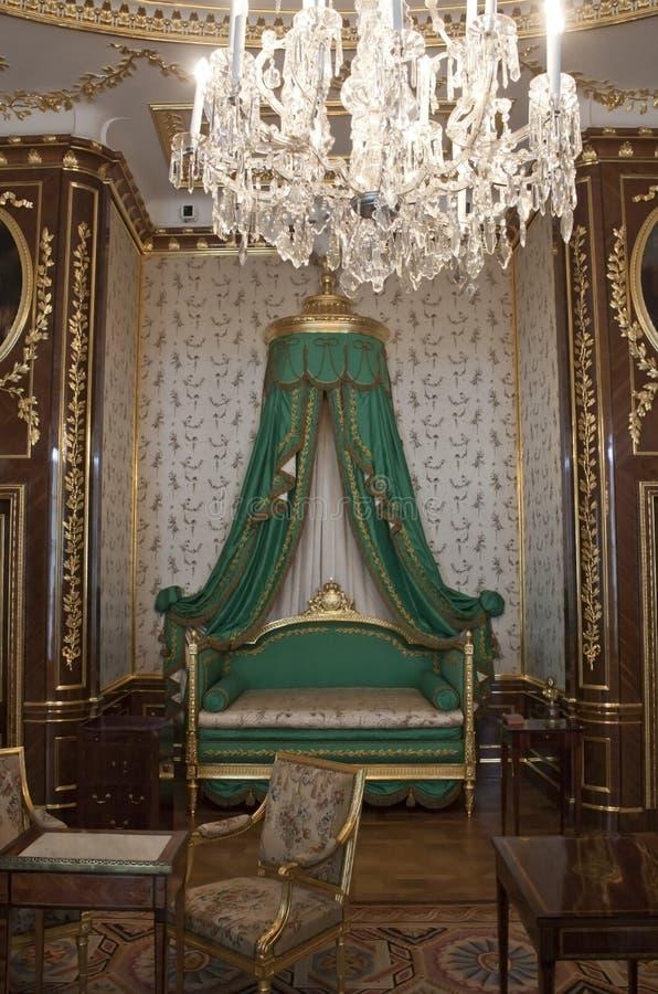 Castelo real em Varsóvia imagem de stock royalty free