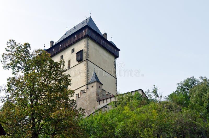 Castelo real Karlstejn fotografia de stock