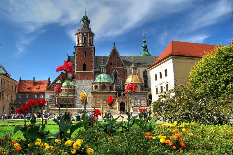 Castelo real Wawel fotografia de stock