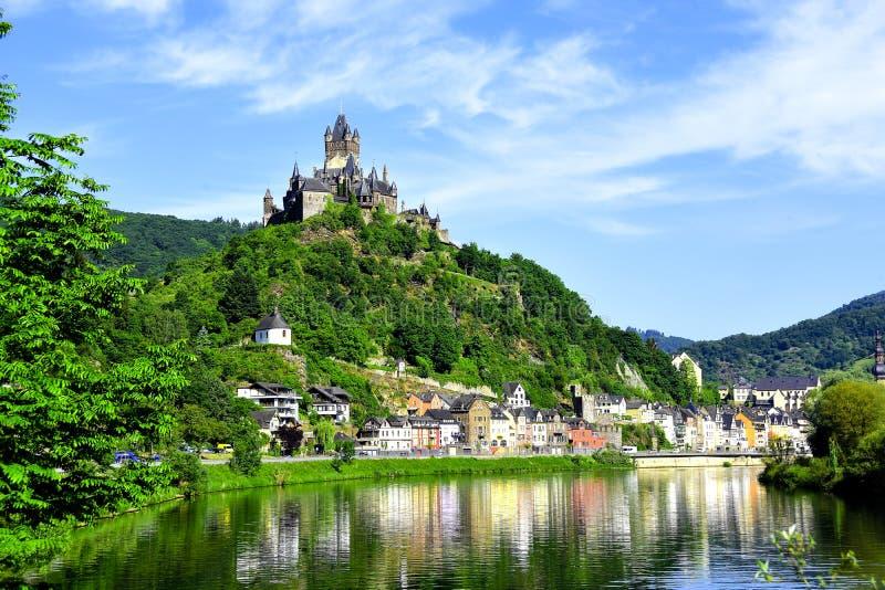 Castelo Reichsburg fotos de stock