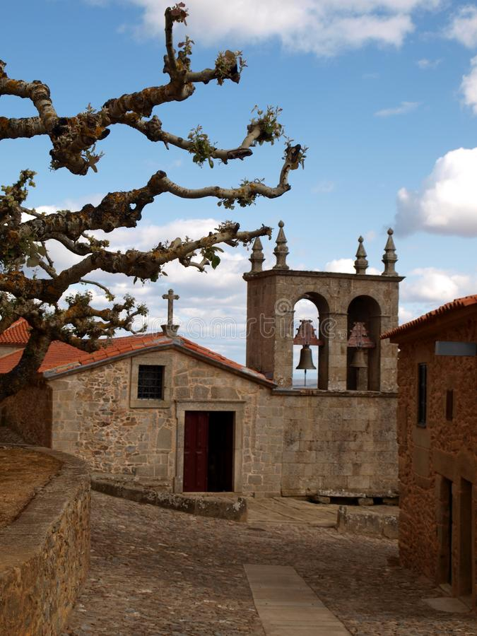 Castelo Rodrigo royalty-vrije stock afbeelding