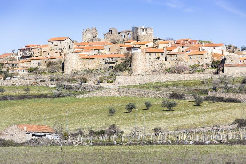 Castelo Rodrigo historyczna wioska fotografia royalty free