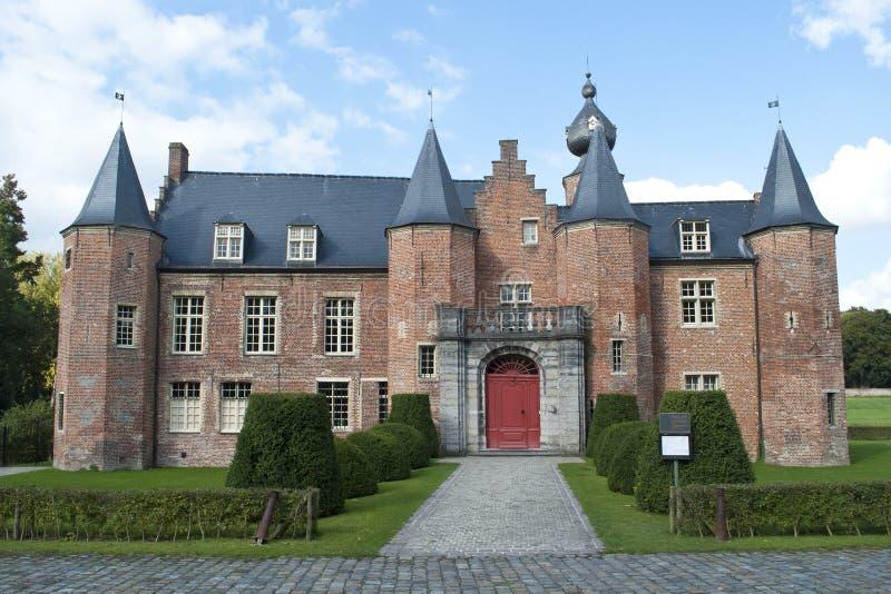 Castelo Rumbeke do renascimento foto de stock royalty free