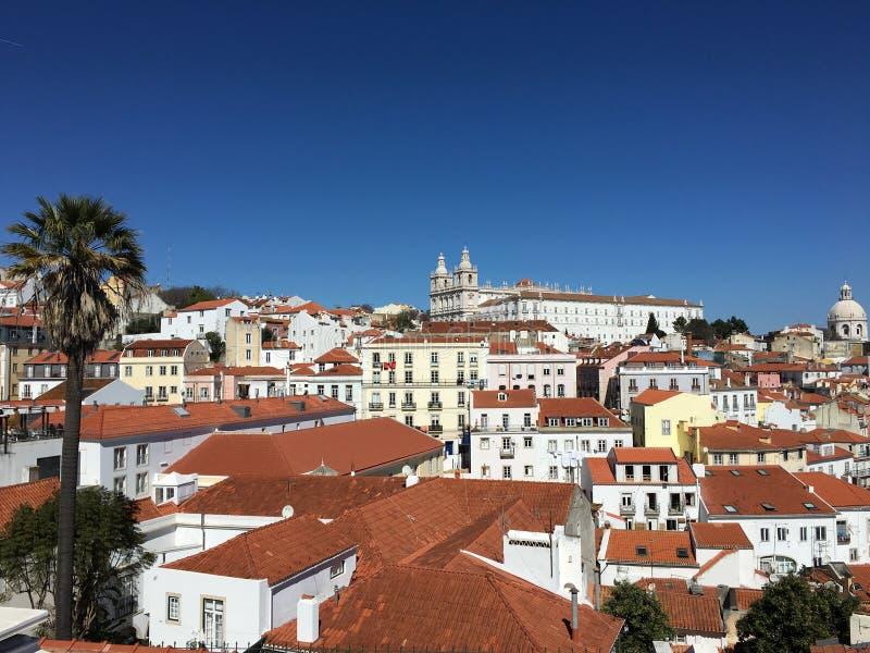 Castelo São Jorge zdjęcie stock