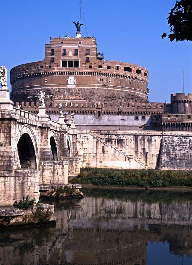Castelo San Angelo, Roma, Italy. foto de stock royalty free