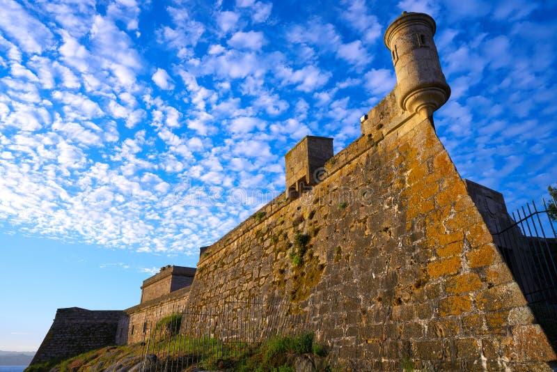 Castelo San Anton in La Coruna of Galicia Spain. Castelo de San Anton in La Coruna of Galicia Spain stock photography
