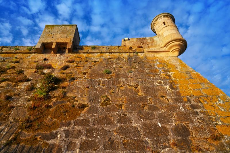 Castelo San Anton in La Coruna of Galicia Spain. Castelo de San Anton in La Coruna of Galicia Spain stock photos