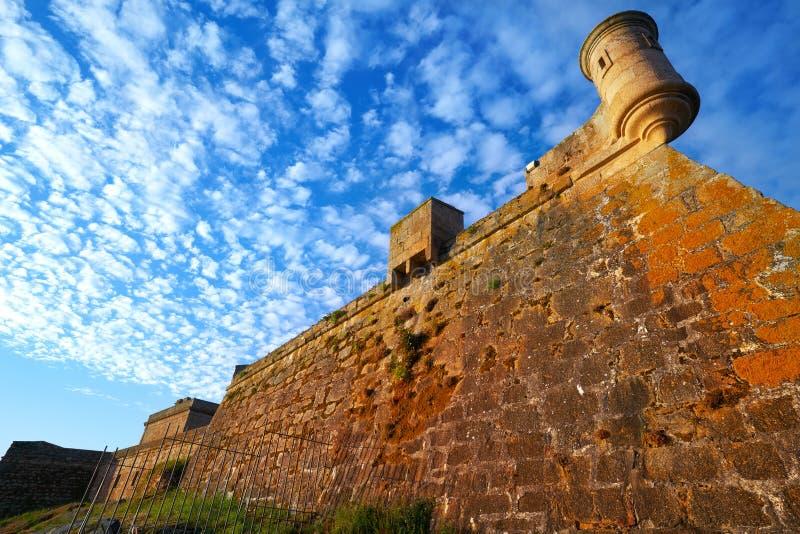 Castelo San Anton in La Coruna of Galicia Spain. Castelo de San Anton in La Coruna of Galicia Spain stock images