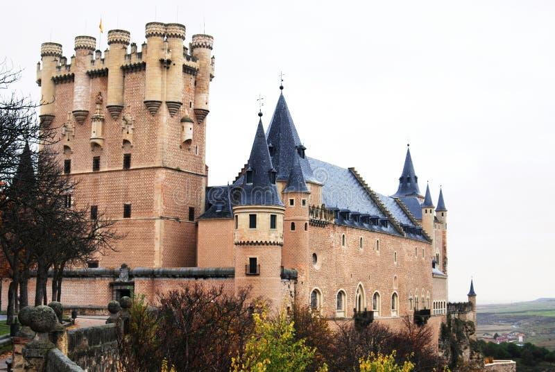 Castelo Segovia Spain imagens de stock
