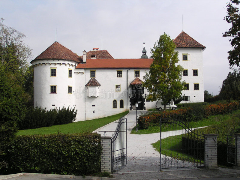 Castelo (Slovenia) Imagem de Stock