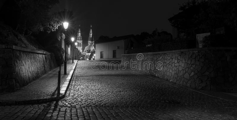 Castelo superior de Vysehrad, Praga imagem de stock royalty free