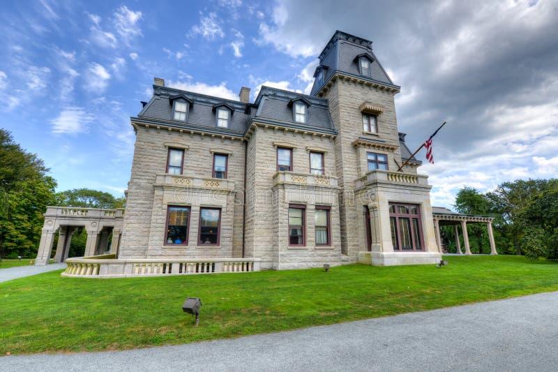 Castelo-sur-MER - Newport, Rhode Island imagens de stock royalty free