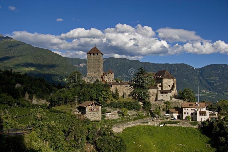 Castelo Tirol fotografia de stock royalty free