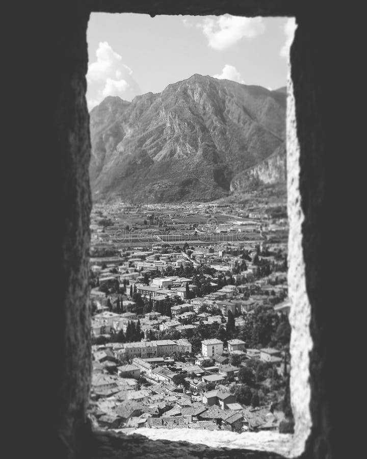 Castelo Trento de Arco foto de stock