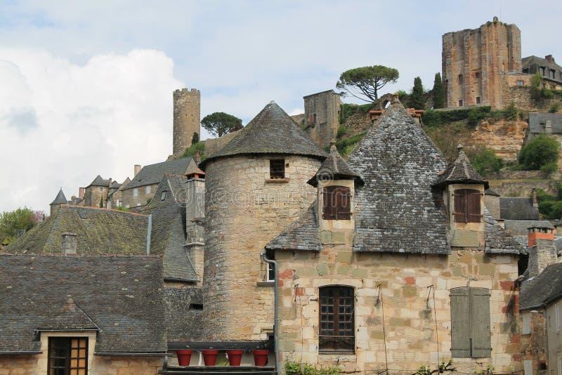 Castelo, Turenne (França) imagem de stock royalty free
