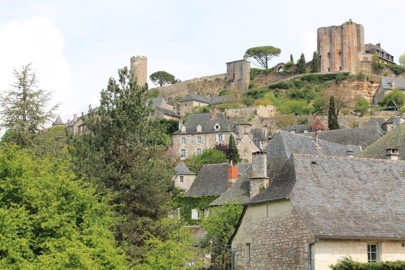 Castelo, Turenne (França) fotografia de stock