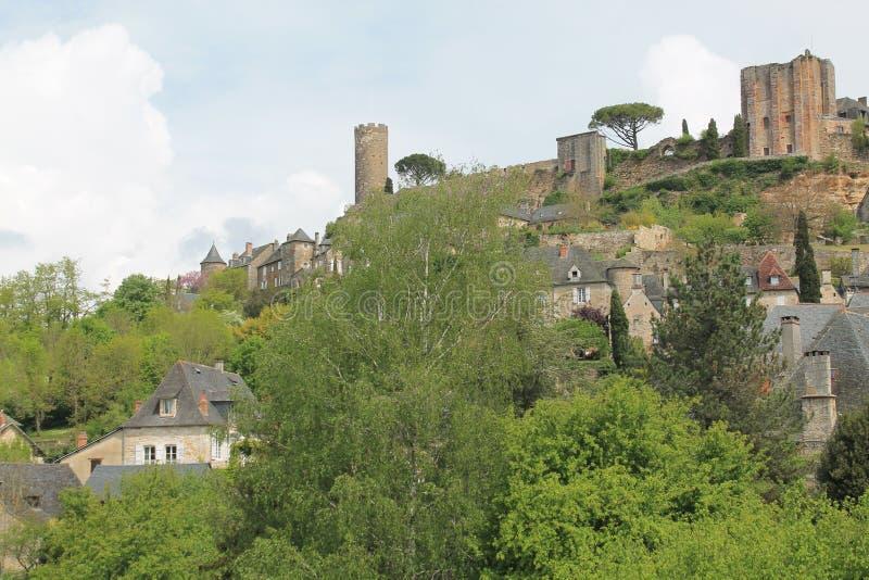 Castelo, Turenne (França) imagem de stock