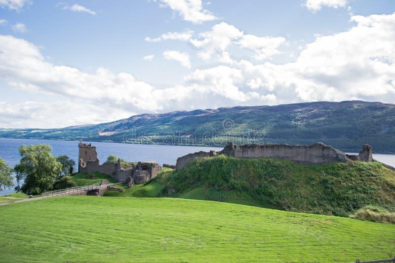 Castelo Urquhart imagem de stock royalty free