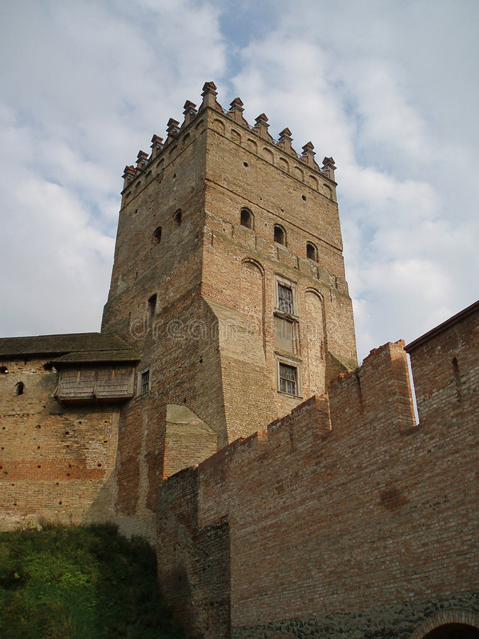 Castelo velho foto de stock