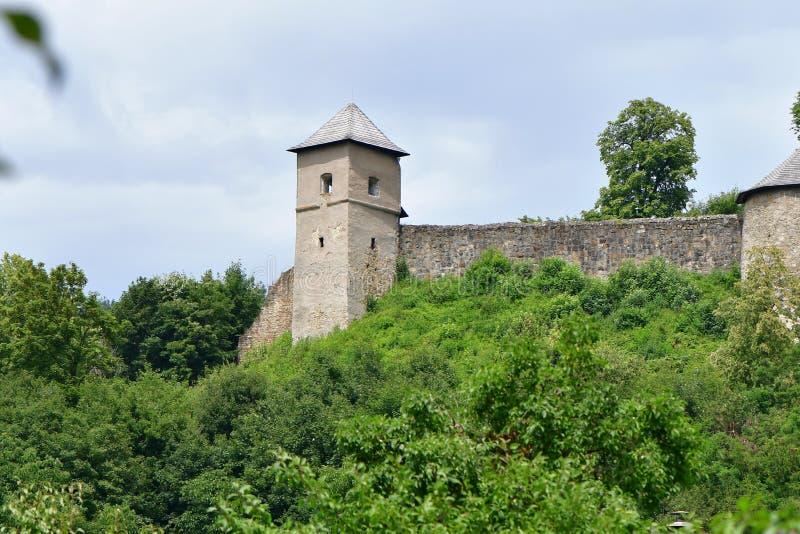 Castelo velho Brumov, república checa imagem de stock royalty free
