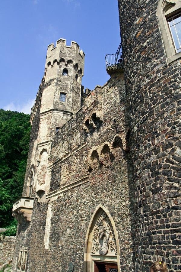 Download Castelo velho em Alemanha foto de stock. Imagem de nobility - 12804690