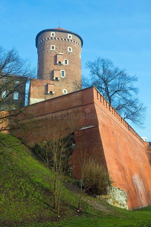 Castelo velho Wawel foto de stock royalty free