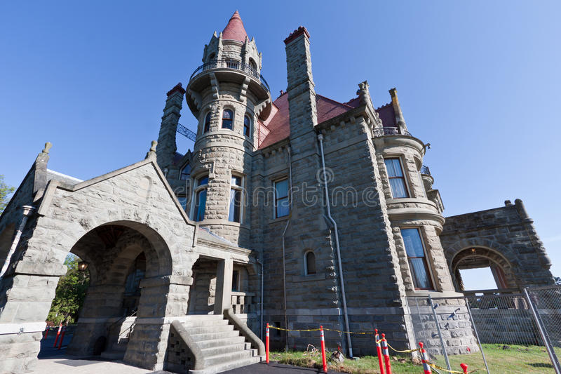 Castelo Victoria Canadá de Craigdarroch foto de stock