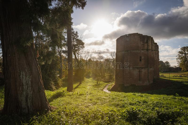 Castelo Warwickshire de Kenilworth imagem de stock royalty free