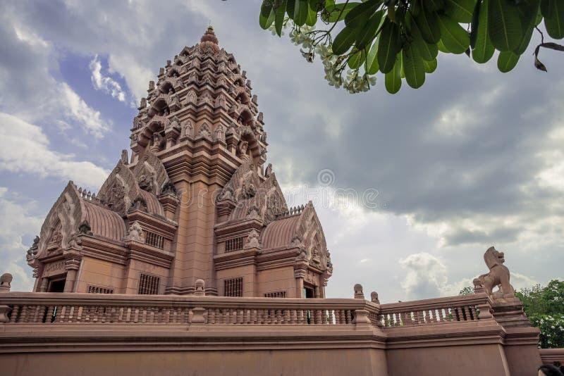Castelo Wat Kao Noi fotografia de stock
