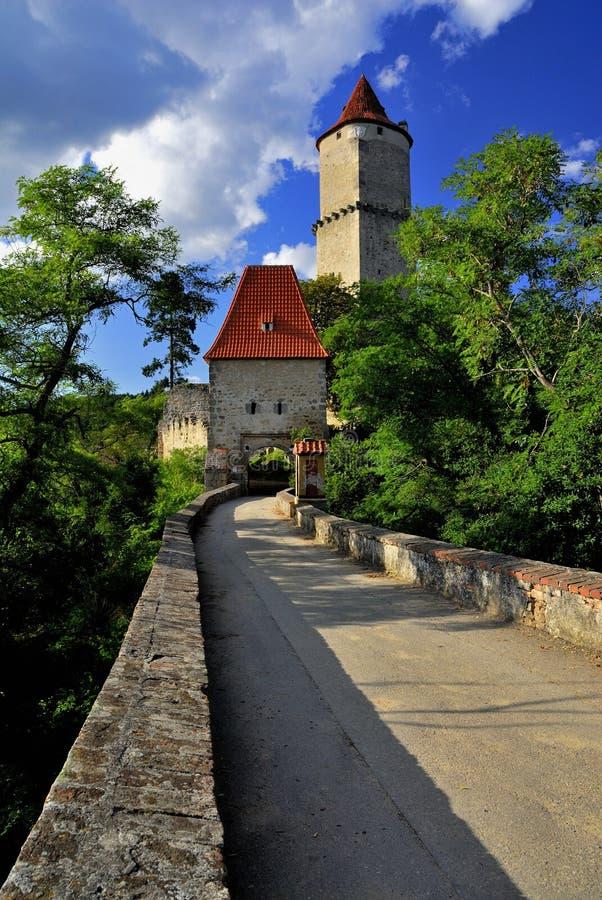 Castelo Zvikov fotografia de stock royalty free