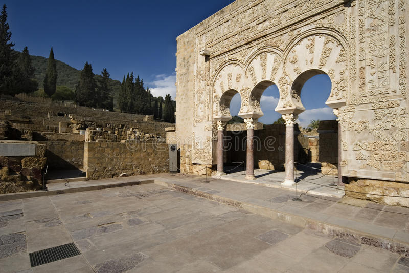 Castelos árabes fotos de stock