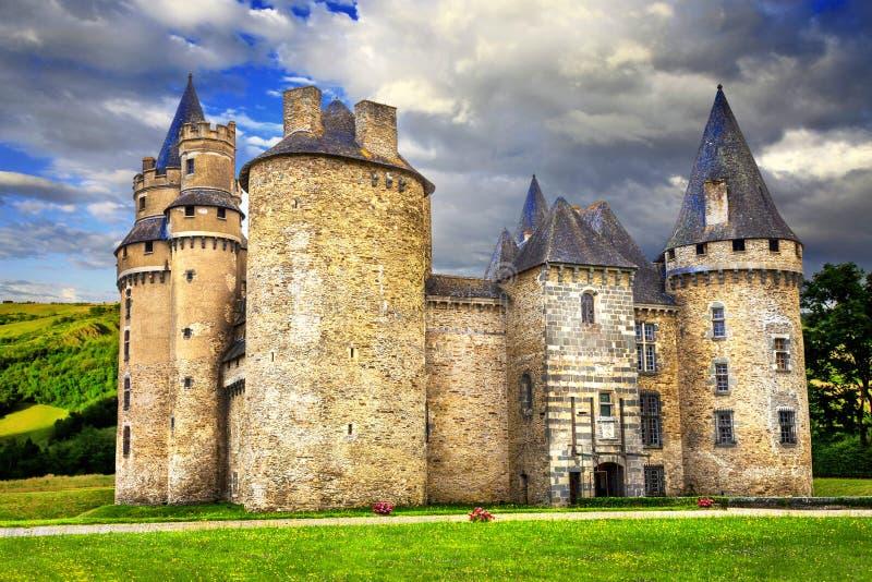 Castelos de France foto de stock