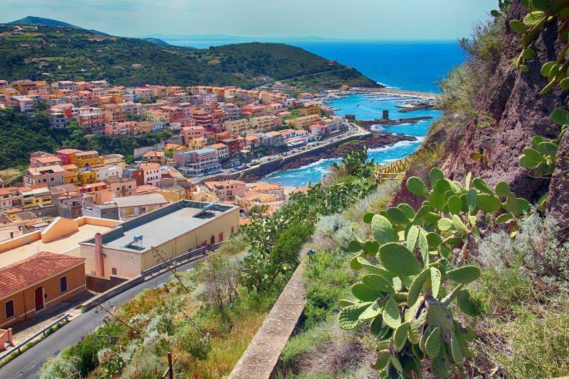 castelsardo Ιταλία Σαρδηνία στοκ φωτογραφία με δικαίωμα ελεύθερης χρήσης