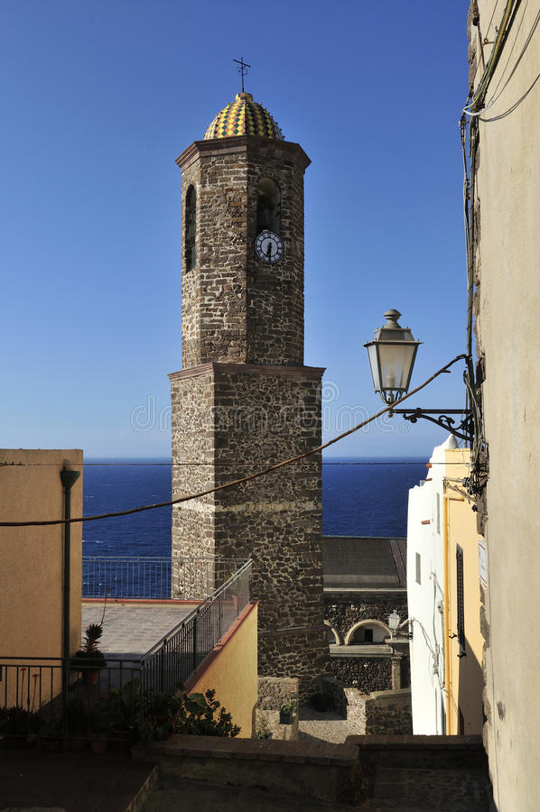 castelsardo Ιταλία Σαρδηνία στοκ φωτογραφίες με δικαίωμα ελεύθερης χρήσης