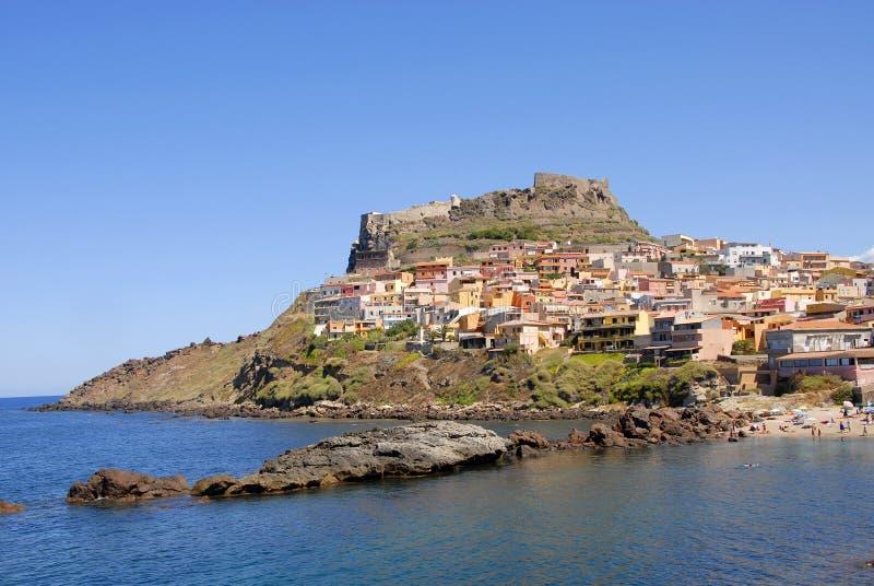 castelsardo Italie Sardaigne photos stock