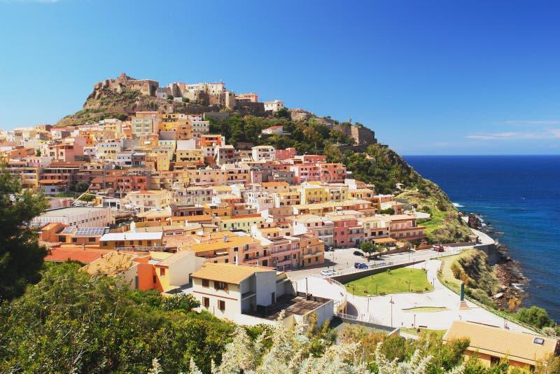 Castelsardo, Sardinia imagens de stock