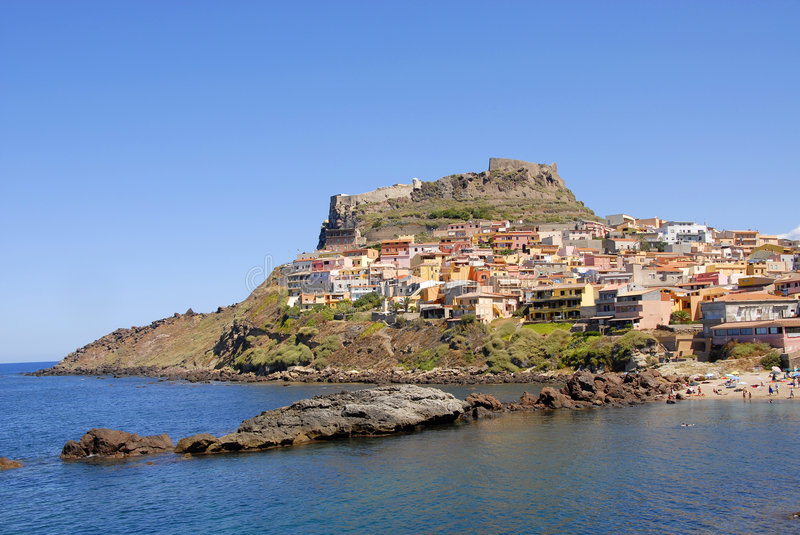 Castelsardo, Sardinia, Italy stock photos