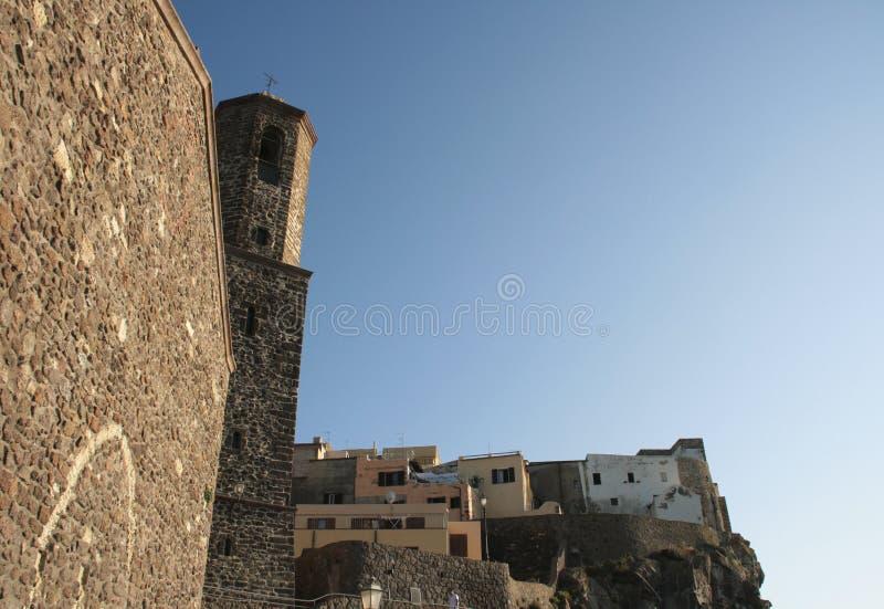 Castelsardo - Sardinien, Italien stockfoto